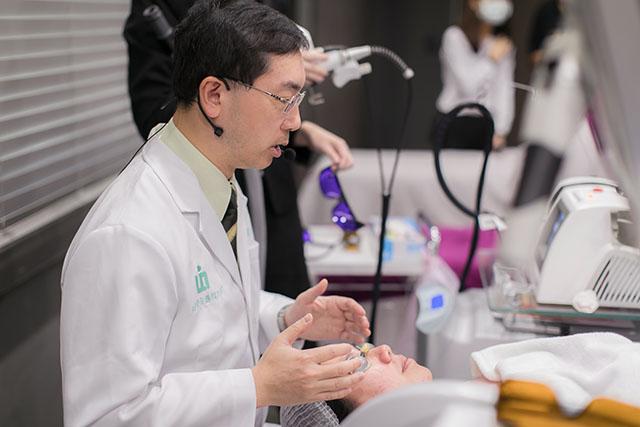 林政賢醫師,林政賢皮膚科診所,探索皮秒雷射,585黃雷射